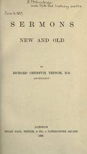 Cover of: Sermons new and old
