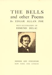 Cover of: The bells and other poems