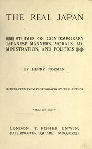 The real Japan by Norman, Henry