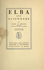Cover of: Elba and elsewhere