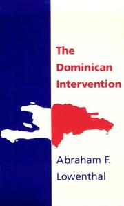 Cover of: The Dominican intervention
