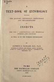 Cover of: A text-book of entomology
