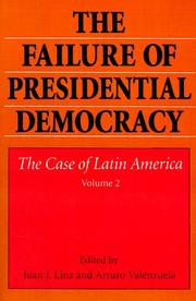 an analysis of the topic of the democracy in latin america - party systems in latin america this essay will compare and contrast the party systems of argentina, brazil and uruguay according to mainwaring and shugart's chapter 11 of presidentialism and democracy in latin america.