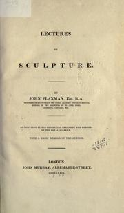 Cover of: Lectures on sculpture