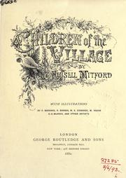 Cover of: Children of the village