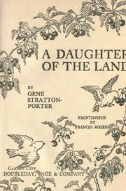 Cover of: A Daughter of the Land