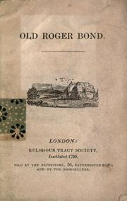 Cover of: Old Roger Bond by