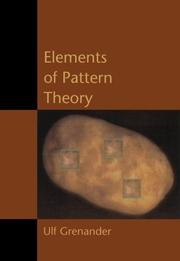 Cover of: Elements of pattern theory