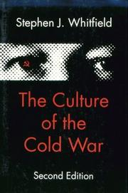Cover of: The culture of the Cold War