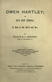 Cover of: Owen Hartley; or, Ups and downs