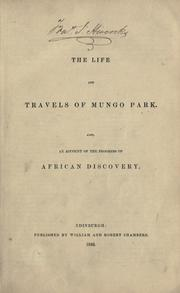 Cover of: Life and travels