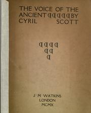 Cover of: The voice of the ancient