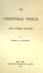Cover of: The Christmas wreck and other stories
