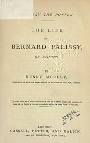 Palissy the potter by Henry Morley