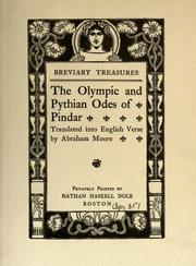The Olympian and Pythian odes by Pindar, Pindar