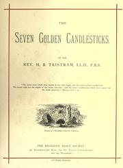 Cover of: The seven golden candlesticks