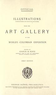 Cover of: Illustrations (three hundred and thirty-six engravings) from the Art gallery of the World's Columbian Exposition. by World's Columbian Exposition (1893 Chicago, Ill.)