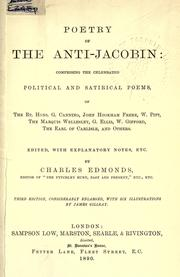 Cover of: Poetry of the Anti-Jacobin