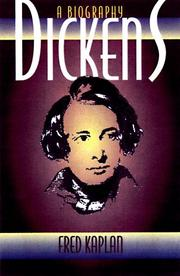 Cover of: Dickens: A Biography