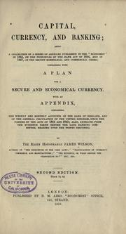 Cover of: Capital, currency, and banking