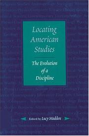 Locating American Studies: The Evolution of a Discipline