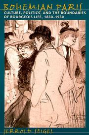 Cover of: Bohemian Paris
