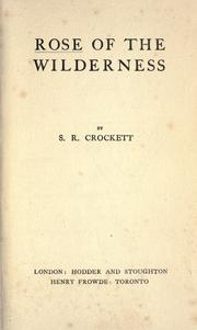 Cover of: Rose of the wilderness