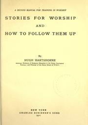 Cover of: Stories for worship