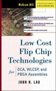 Cover of: Low Cost Flip Chip Technologies for DCA, WLCSP, and PBGA Assemblies