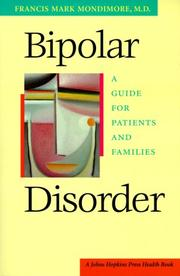 Bipolar disorder by Mondimore, Francis Mark