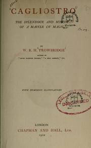 Cover of: Cagliostro | W. R. H. Trowbridge