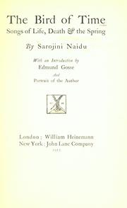 Cover of: The bird of time: songs of life, death & the spring