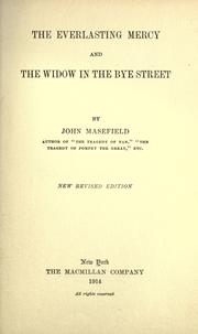 Cover of: The everlasting mercy: and The widow in the Bye street