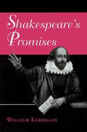 Cover of: Shakespeare's promises