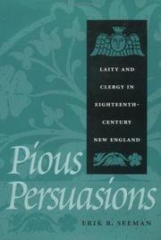 Cover of: Pious persuasions