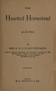 Cover of: The haunted homestead