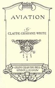 Cover of: Aviation
