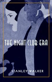 Cover of: The night club era