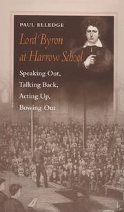 Cover of: Lord Byron at Harrow School