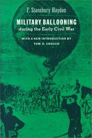 Cover of: Military ballooning during the early Civil War