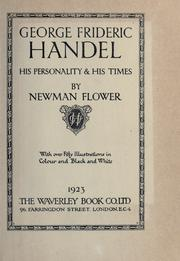 Cover of: George Frideric Handel