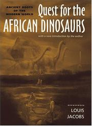 Cover of: Quest for the African dinosaurs
