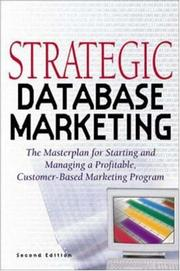Strategic Database Marketing by Arthur M. Hughes