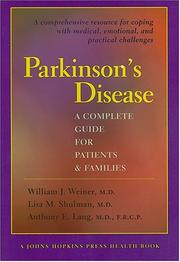 Cover of: Parkinson's disease |