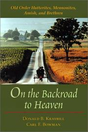 Cover of: On the backroad to heaven
