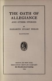 Cover of: The oath of allegiance