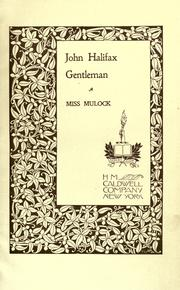 Cover of: John Halifax: gentleman.