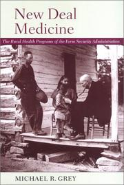 Cover of: New deal medicine