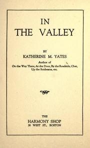 Cover of: In the valley