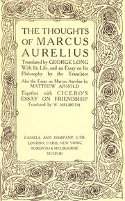 Cover of: The thoughts of Marcus Aurelius